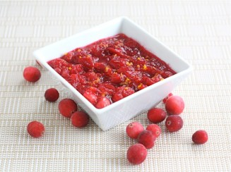 fresh cranberry orange sauce