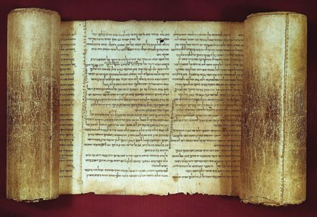 The Great Isaiah Scroll: Photo: John C. Trevor, Ph.D. Digital Image: James E. Trevor.