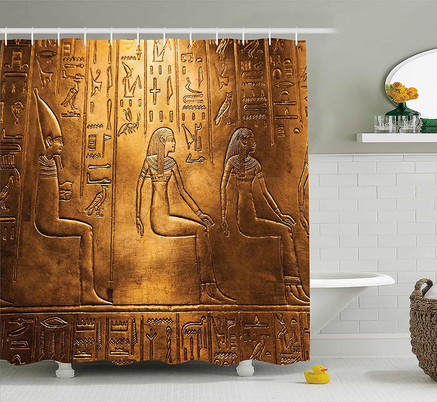24 Cool Shower Curtains For Your Bathroom Makeover