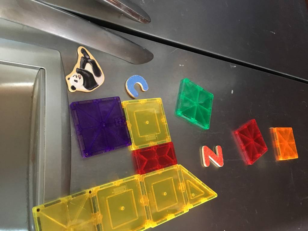 Magnets on the Fridge Kid Activity