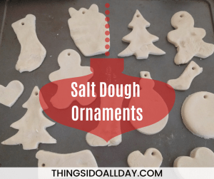 Easy Salt Dough Christmas Ornaments for an Annual Holiday Tradition