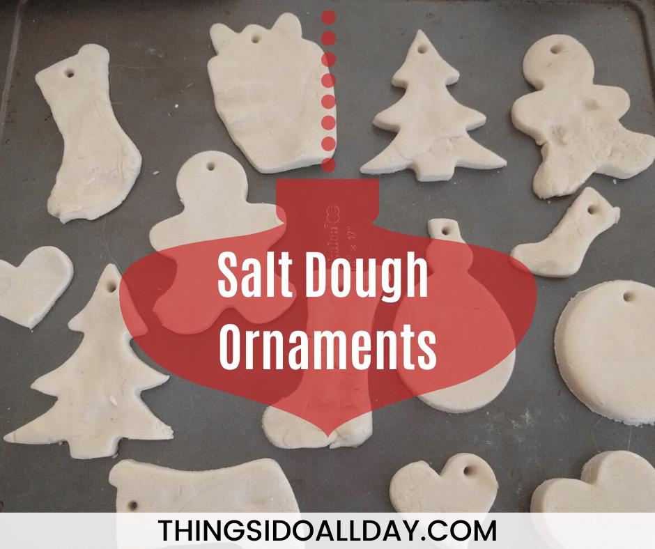 Easy Salt Dough Ornament Recipe with Kids