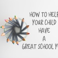 Help Your Child Have a Great School Year