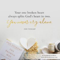 What Do You Do With Your Broken Heart?