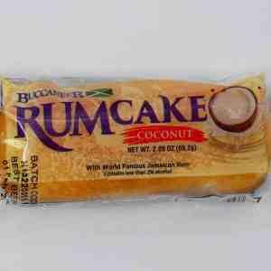 Buccaneers Rum Cake- (Coconut)