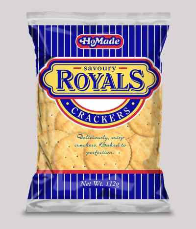 Homade Royals Crackers (6pk) - So Delicious - Buy now