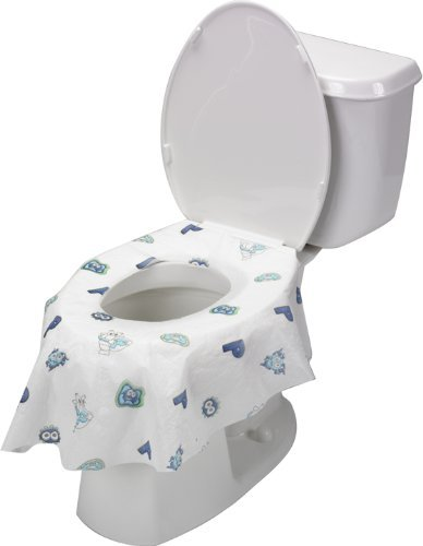 Potty Shields Extra Large Disposable Toilet Seat Covers - Things ...