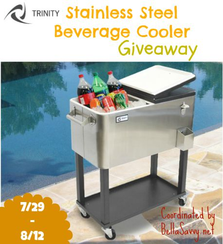TRINITY Stainless Steel Beverage Cooler Giveaway