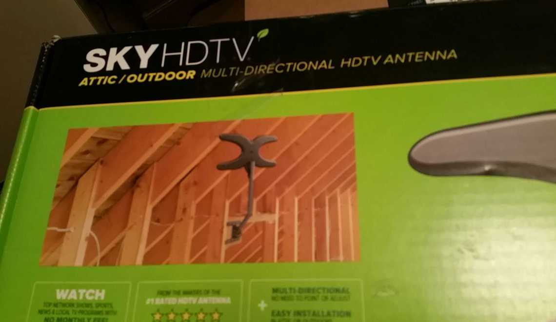 Free HDTV – Can That Be True? Mohu Antenna
