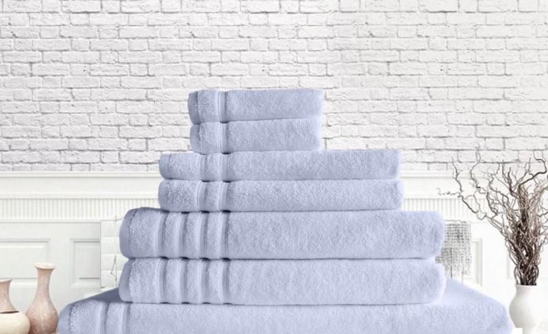 Zero-Twist-Towel-Set-of-7-White-Waverly