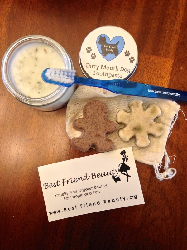 Best Friend beauty Dirty Mouth Dog Toothpaste and Solid Shampoo