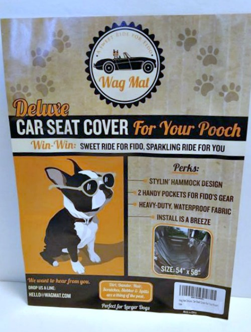 Wag Mat Keeps The Fur Off Your Seat