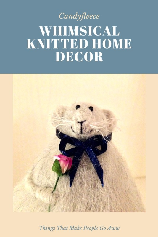 Candyfleece Whimsical Knitted Home Decor