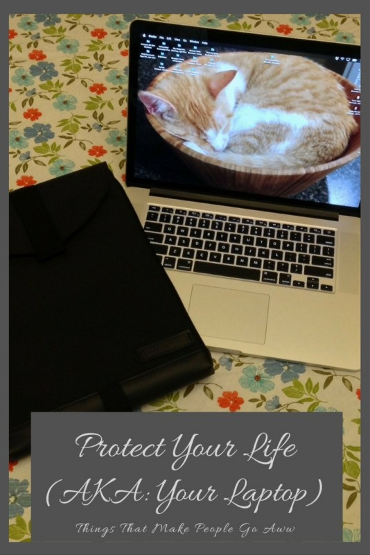 Protect Your Life (AKA Your Laptop)-Macbook Sleevecase 15 inch Macbook Pro Touch Bar