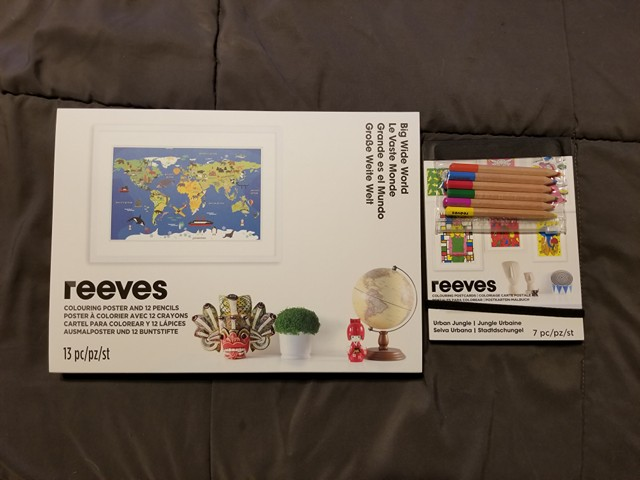 Gift your artist Reeves Coloring Products