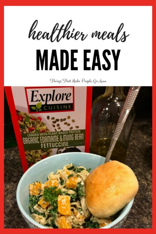 Healthier meals made easy things that make people go aww healthier meals made easy explore cuisine organic edamame and mung bean fettuccine forumfinder Choice Image