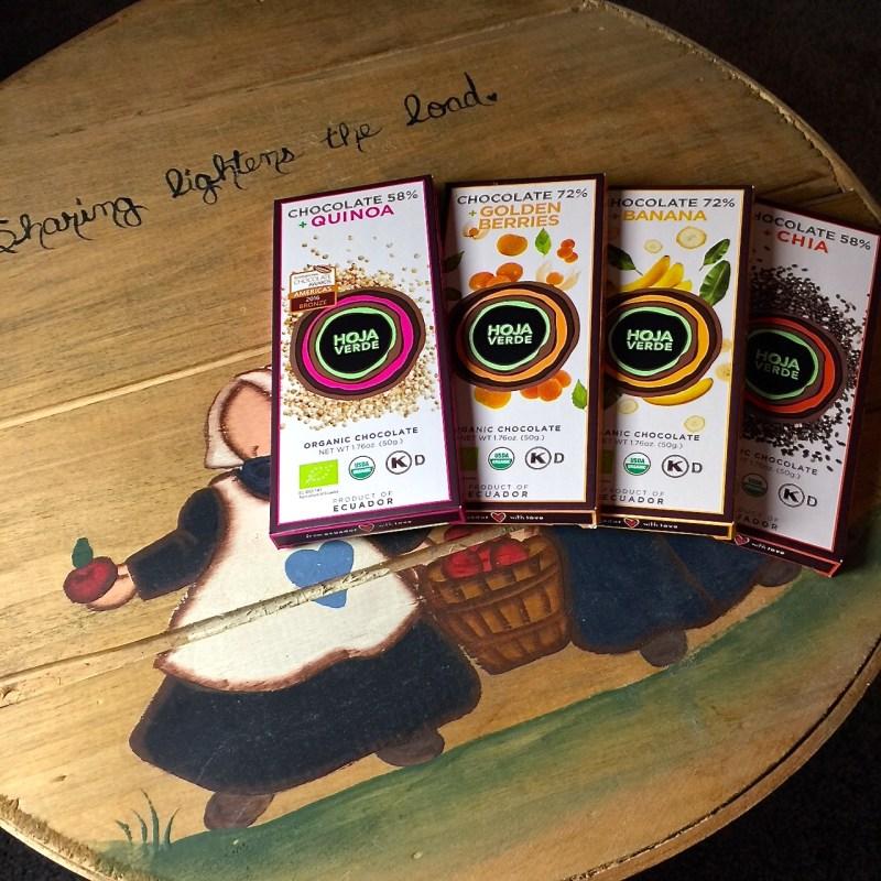 Sense Ecuador--Hoja Verde Superfoods Chocolate Pack with Chia, Quinoa, Golden Berries & Banana