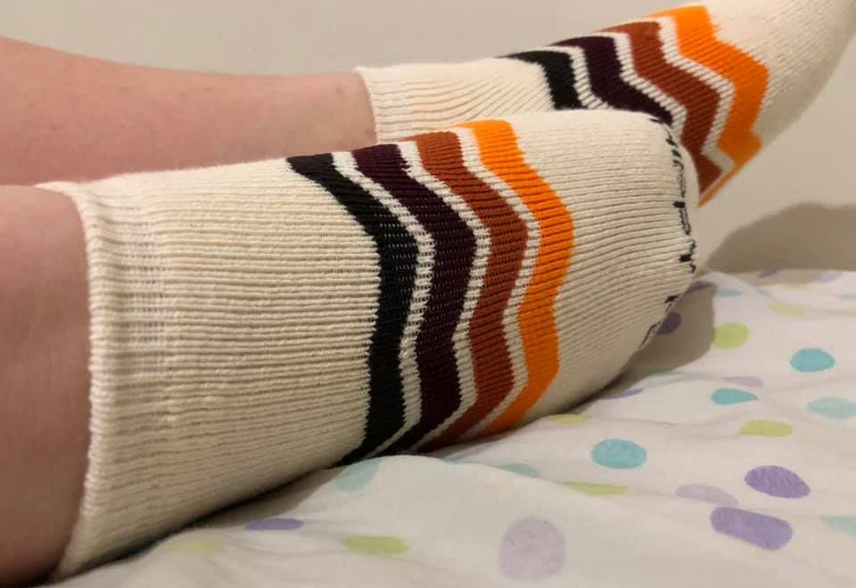 Socks that are Comfy and Help Homeless People