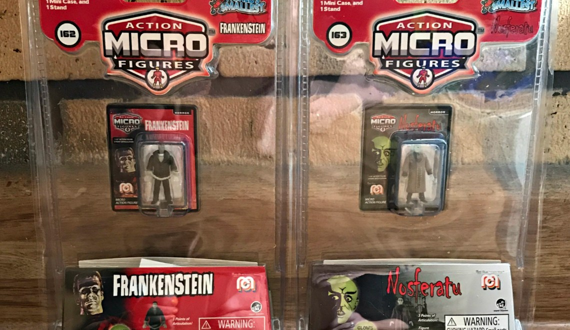 Scary, Collectible Action Figures