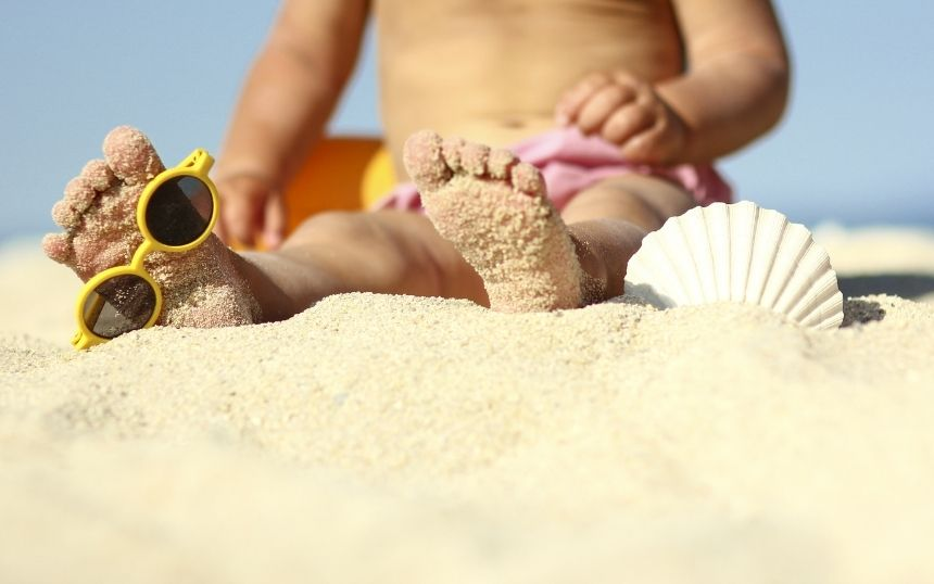 How To Have a Beach Day With Your Baby