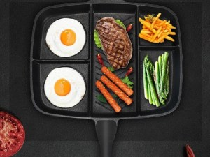Non-Stick Multi-Sectional Skillet