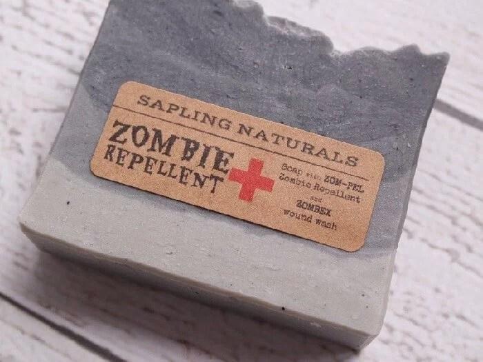 Zombie Repellent Soap
