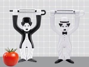 Charlie Chaplin Vegetable Peeler