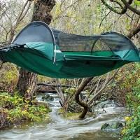 Hybrid Tent-Hammock