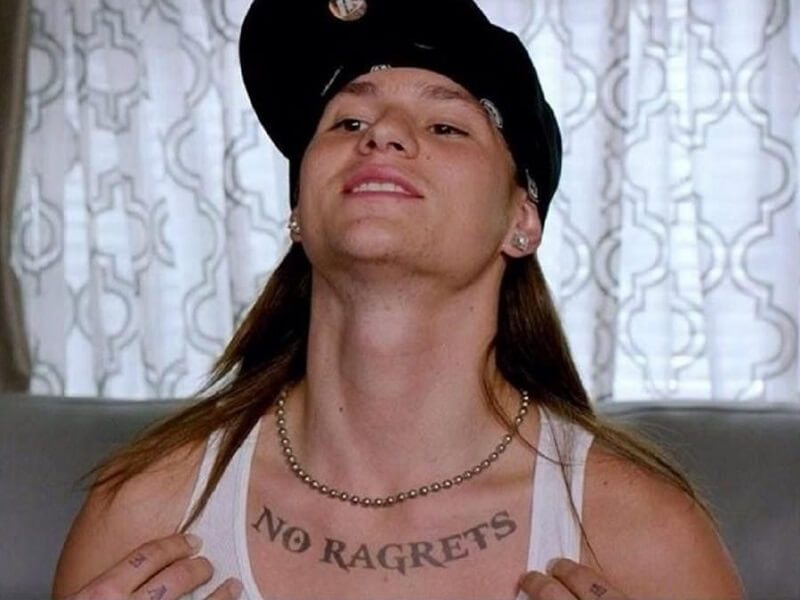 We're The Millers No Ragrets Tattoo