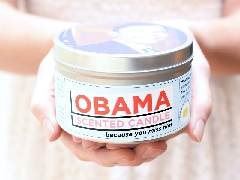 Obama Scented Candle