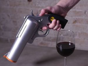 Electric Gun Wine Opener