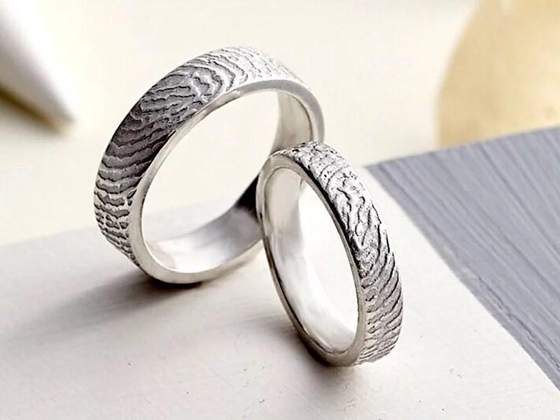 Personalized Fingerprint Rings