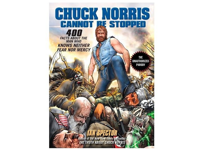 Chuck Norris Cannot Be Stopped Book