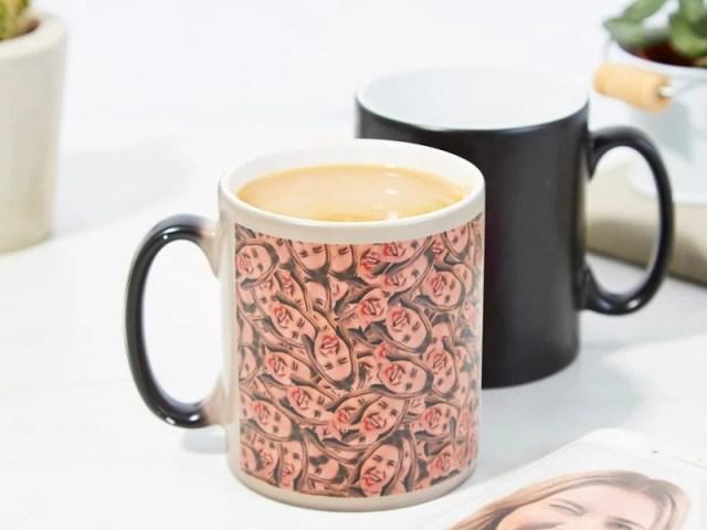 Personalized Heat Change Mug