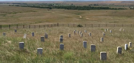 Montana Little Bighorn Battlefield