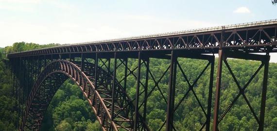 west Virginia New River Gorge Bridge