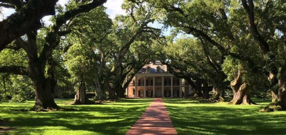 Louisiana Oak Alley Plantation