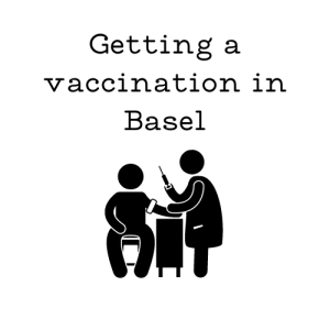 Getting a COVID vaccination in Basel