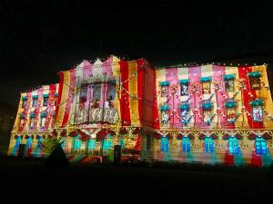 Immerse yourself in the amazing 'Son et Lumiere' at Parc des Bastions in Geneva. Don't miss this spectacular light and sound show - which for some reason doesn't appear to be that well promoted, but is well worth attending. The theme is Gravity this year.