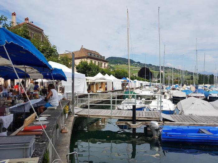 Brocantes near Geneva