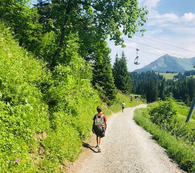 summer mountain break villars Geneva
