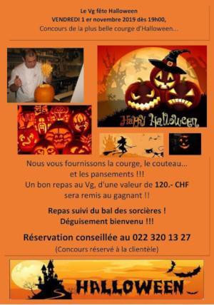 Halloween parties Geneva 2019