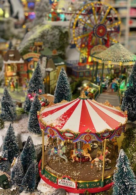 Schilliger garden centre Christmas market Gland