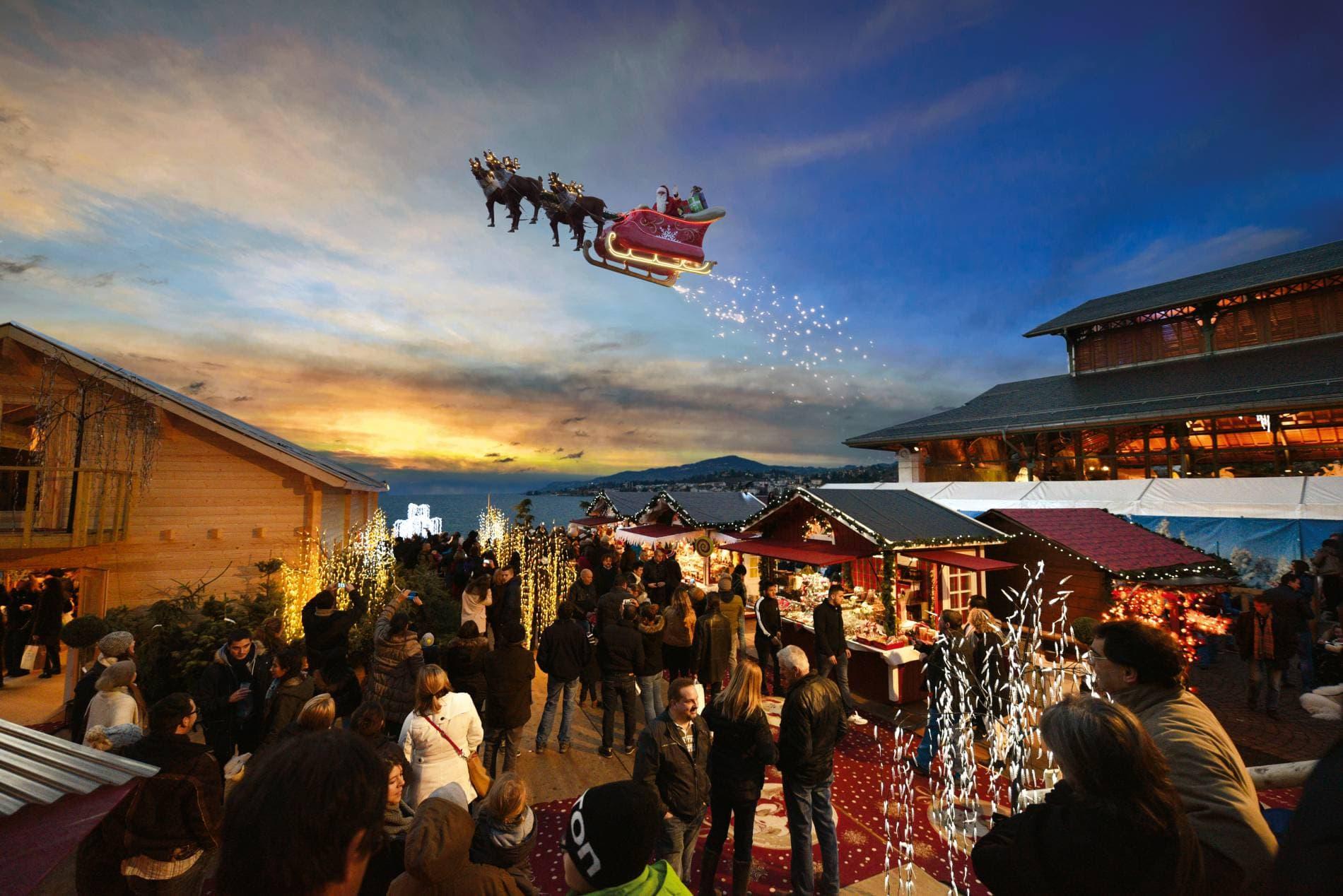 Christmas markets in Geneva 2019