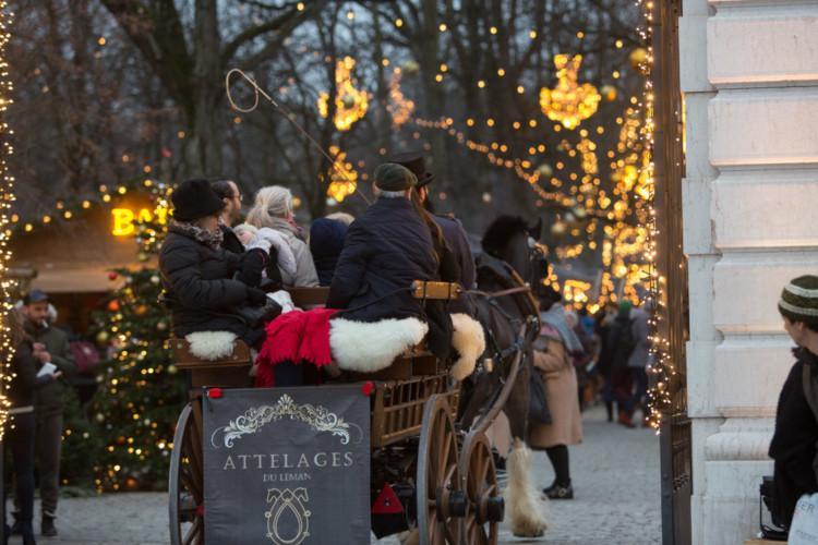 Noel aux Bastions Christmas market Geneva
