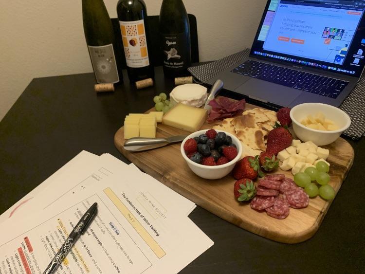 Online wine tasting Geneva