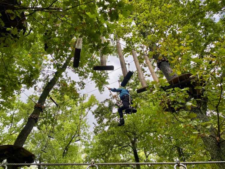 high rope course geneva