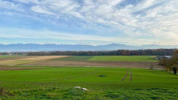 autumn bike ride from Geneva