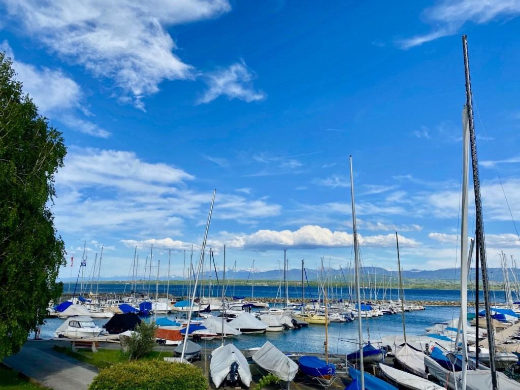 Port of Coppet Switzerland