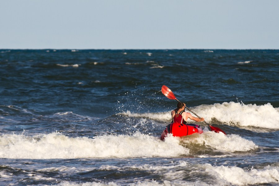 Todd Tumolo, a la playa.
